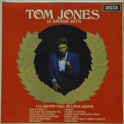Tom Jones<br>13 Smash Hits<br>LP