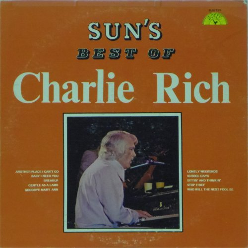 Charlie Rich<br>The Best of<br>LP