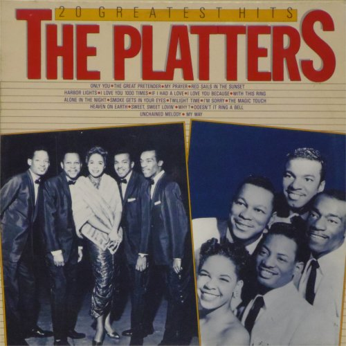 The Platters<br>20 Greatest Hits<br>LP