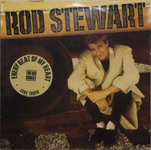 Rod Stewart<br>Every Beat of My Heart<br>LP