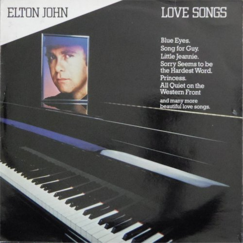 Elton John<br>Love Songs<br>LP