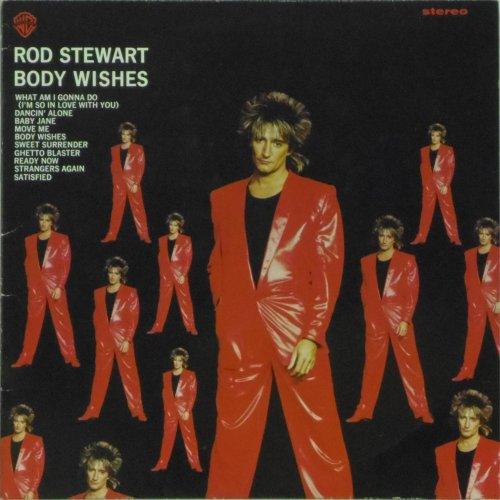 Rod Stewart<br>Body Wishes<br>LP