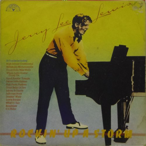 Jerry Lee Lewis<br>Rockin' Up A Storm<br>Double LP
