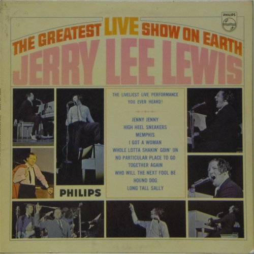 Jerry Lee Lewis<br>The Greatest Live Show on Earth<br>LP
