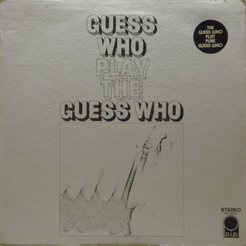 The Guess Who<br>Play The Guess Who<br>LP