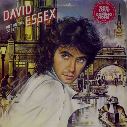 David Essex<br>Out on The Street<br>LP