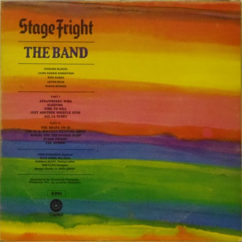 The Band<br>Stage Fright<br>LP