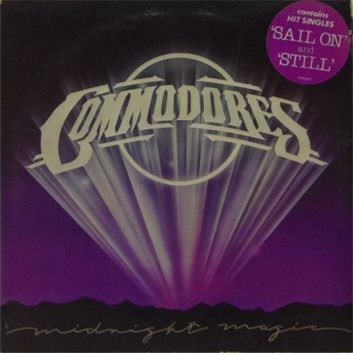 The Commodores<br>Midnight Magic<br>LP