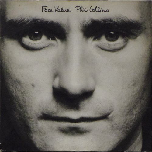 Phil Collins<BR>Face Value<br>LP