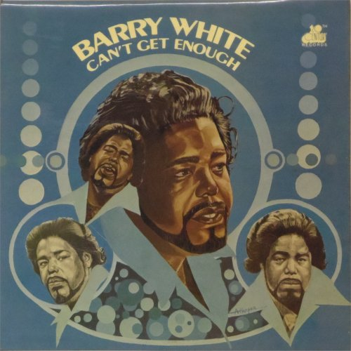 Barry White<br>Can't Get Enough<br>LP