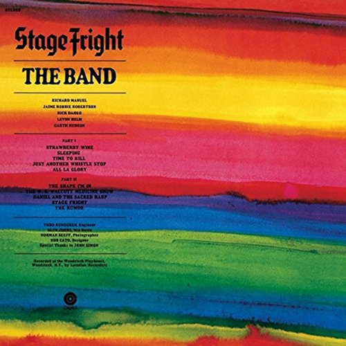 The Band<br>Stage Fright<br>(New 180 gram re-issue)<br>LP