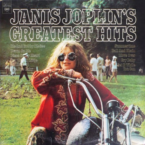 Janis Joplin<br>Greatest Hits<br>(New re-issue)<br>LP