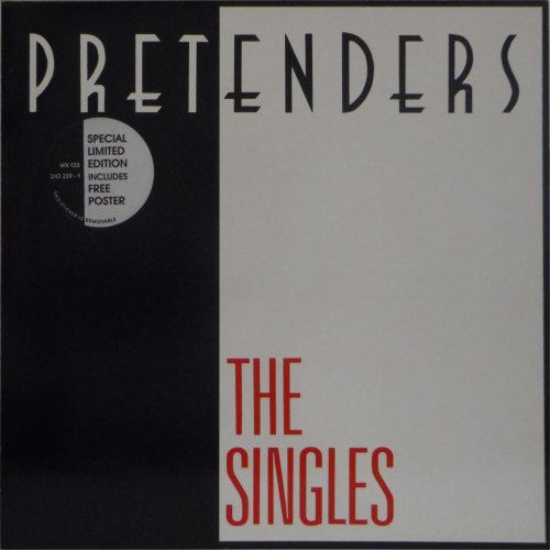 The Pretenders<br>The Singles<br>LP (GERMAN pressing)