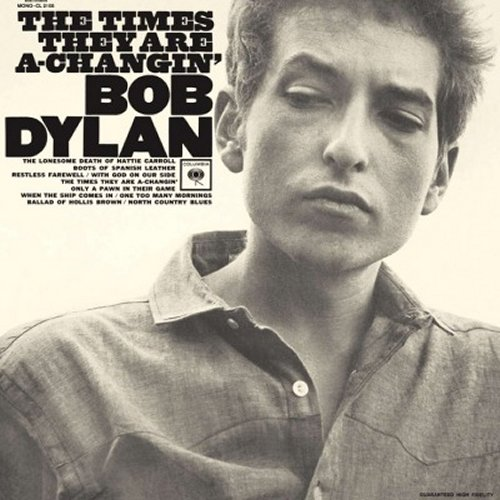 Bob Dylan<br>The Times They Are A Changin'<br>(New 180 gram re-issue)<br>LP