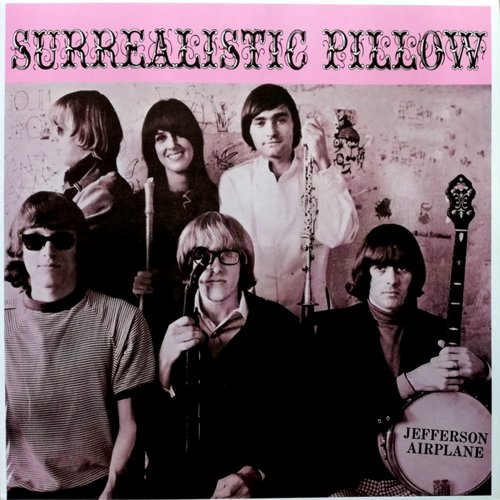 Jefferson Airplane<br>Surrealistic Pillow<br>(New re-issue)<br>LP