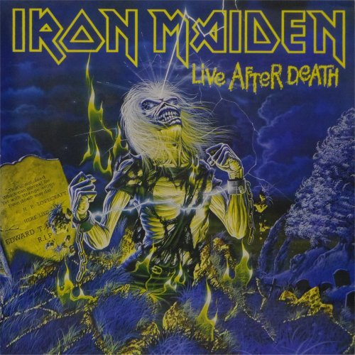 Iron Maiden<br>Live After Death<br>Double LP (UK pressing)