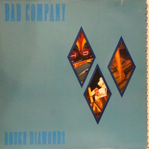 Bad Company<br>Rough Diamonds<br>LP (UK pressing)