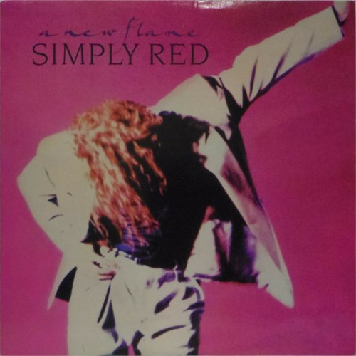 Simply Red<br>A New Flame<br>LP (US pressing)