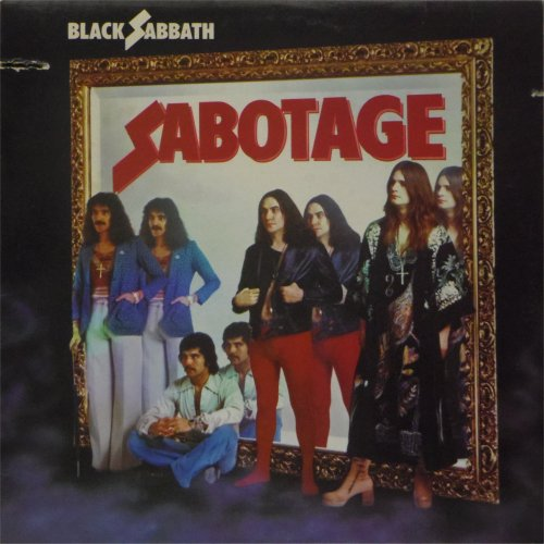 Black Sabbath<br>Sabotage<br>LP (US pressing)