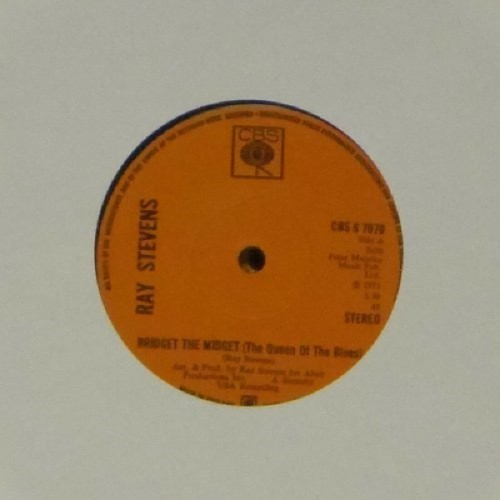 "Ray Stevens<br>Bridget The Nidget<br>7"" single"