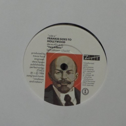 "Frankie Goes To Hollywood<br>Two Tribes<br>7"" single"