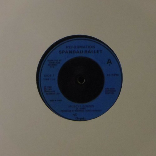 "Spandau Ballet<br>Muscle Bound<br>7"" single"