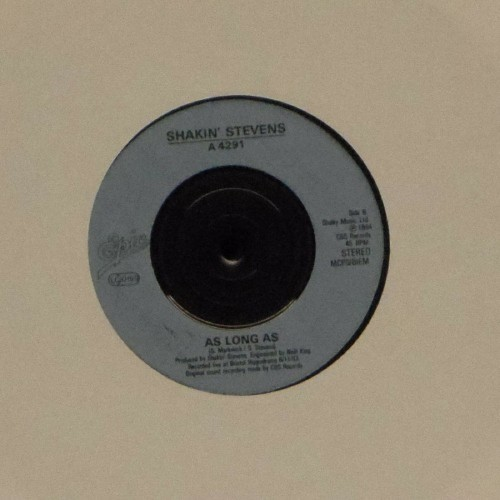"Shakin' Stevens<br>A Love Worth Waiting For<br>7"" single"