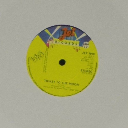 "Electric Light Orchestra<br>Ticket To The Moon<br>7"" single"