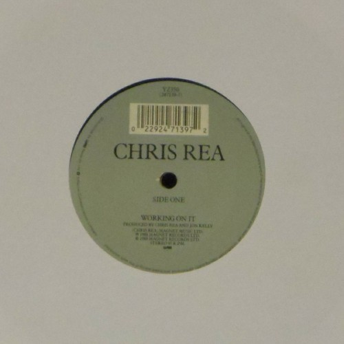 "Chris Rea<br>Working On It<br>7"" single"