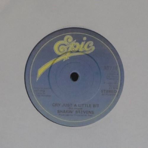 "Shakin' Stevens<br>Cry Just A Little Bit<br>7"" single"