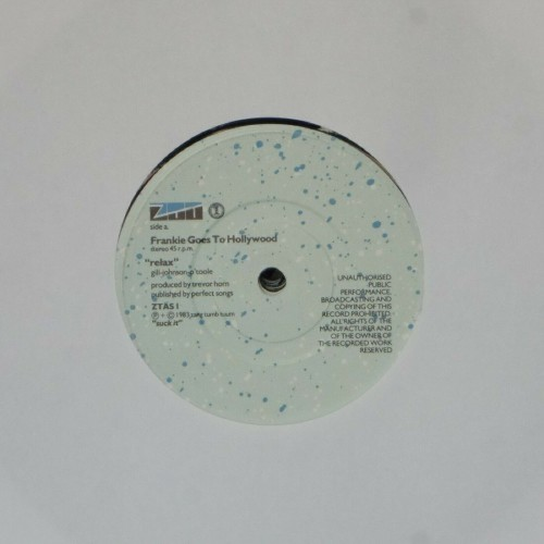 "Frankie Goes To Hollywood<br>Relax<br>7"" single"