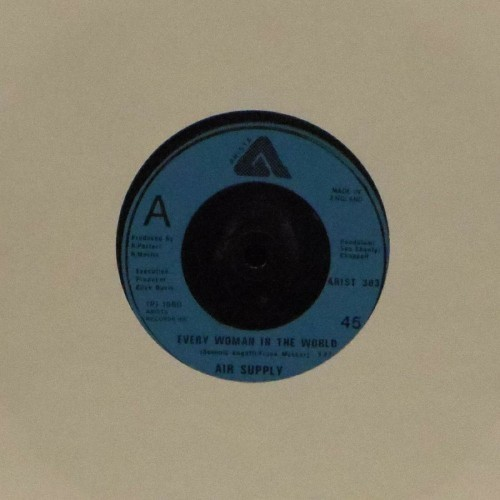 "Air Supply<br>Every Woman In The World<br>7"" single"