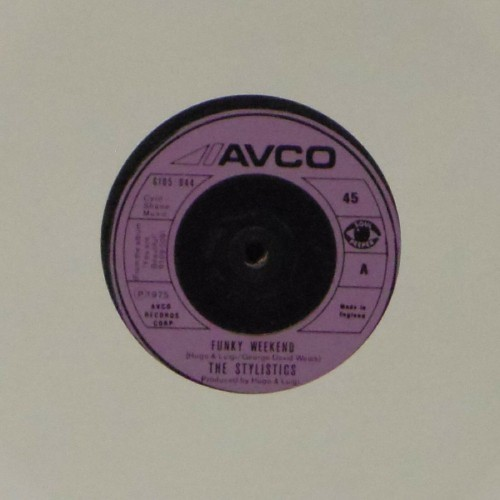 "The Stylistics<br>Funky Weekend<br>7"" single"