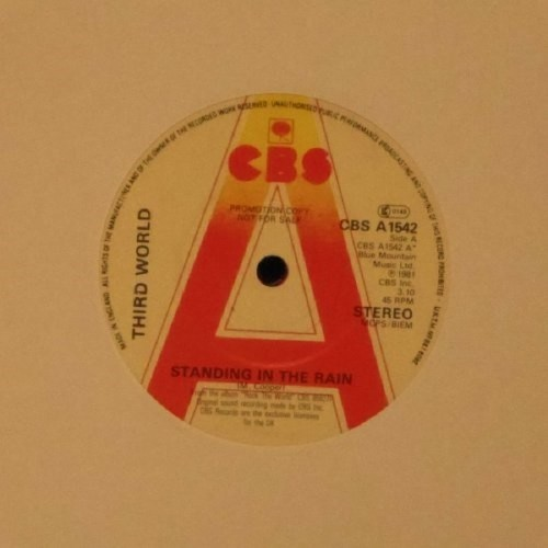 "Third World<br>Standing In The Rain<br>7"" single"