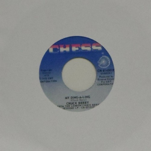 "Chuck Berry<br>My Ding-A-Ling<br>7"" single"