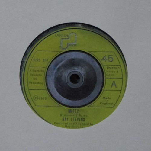"Ray Stevens<br>Misty<br>7"" single"
