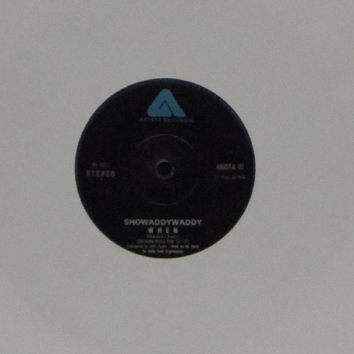 "Showaddywaddy<br>W H E N<br>7"" single"