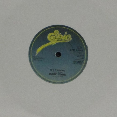 "Shakin' Stevens<br>It's Raining<br>7"" single"