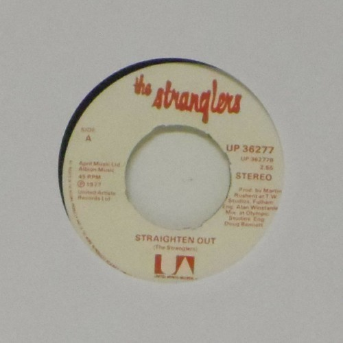 "The Stranglers<br>Straighten Out<br>7"" single"