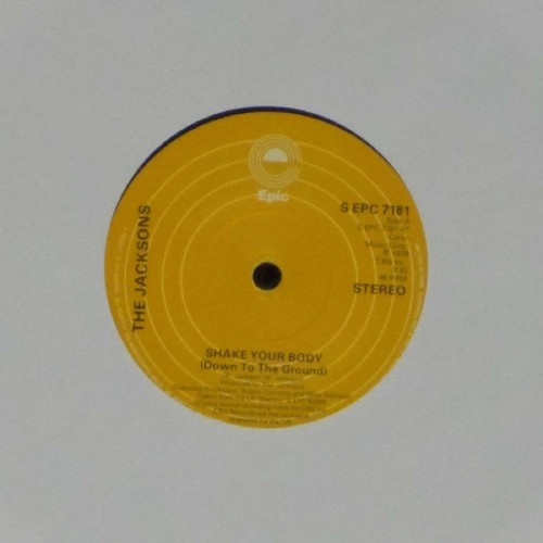 "The Jacksons<br>Shake Your Body<br>7"" single"