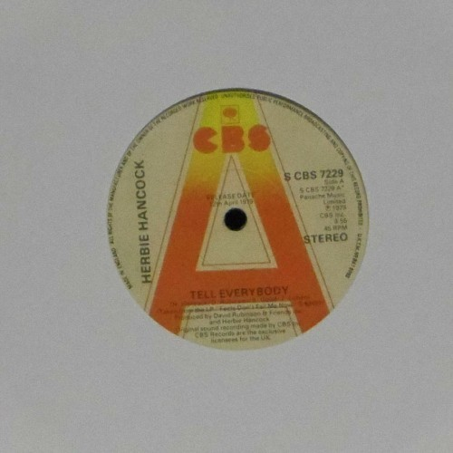"Herbie Hancock<br>Tell Everybody<br>7"" single"
