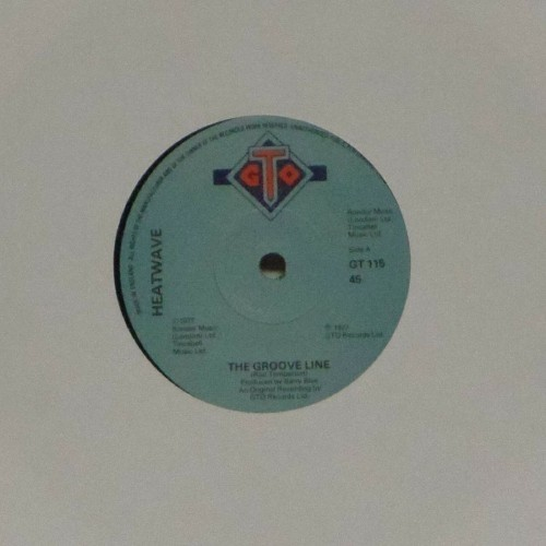 "Heatwave<br>The Groove Line<br>7"" single"
