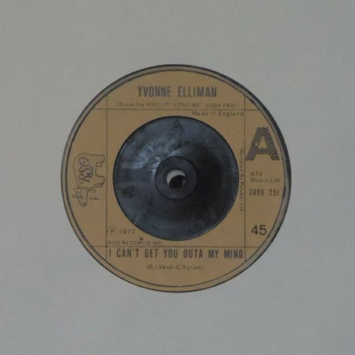 "Yvonne Elliman<br>I Can't Get You Outa My Mind<br>7"" single"