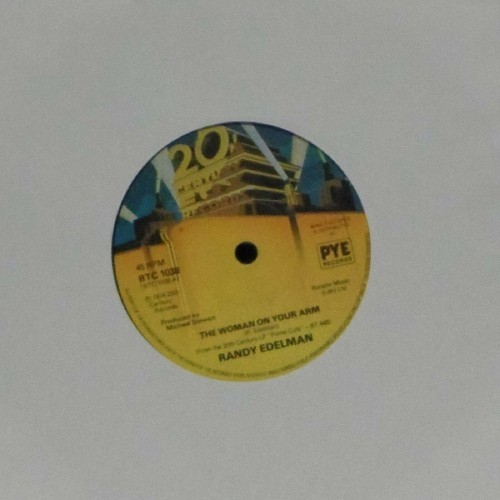 "Randy Edelman<br>The Woman On Your Arm<br>7"" single"