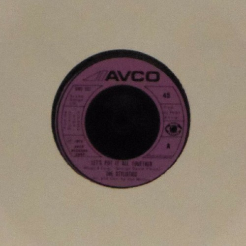 "The Stylistics<br>Let's Put It All Together<br>7"" single"