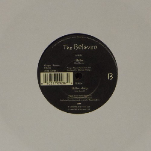 "The Beloved<br>Hello<br>7"" single"