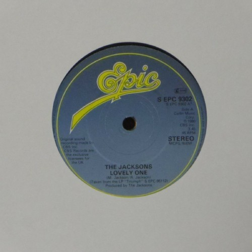 "The Jacksons<br>Lovely One<br>7"" single"