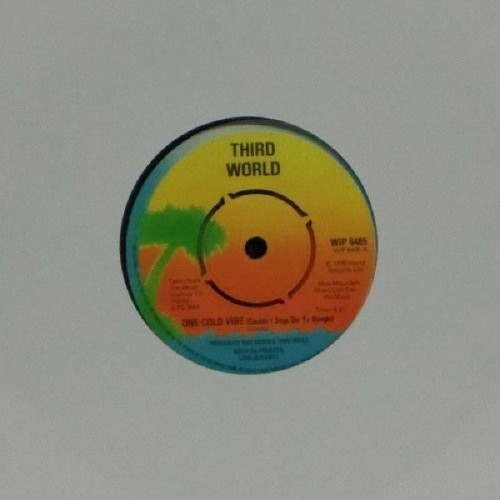 "Third World<br>One Cold Vibe<br>7"" single"