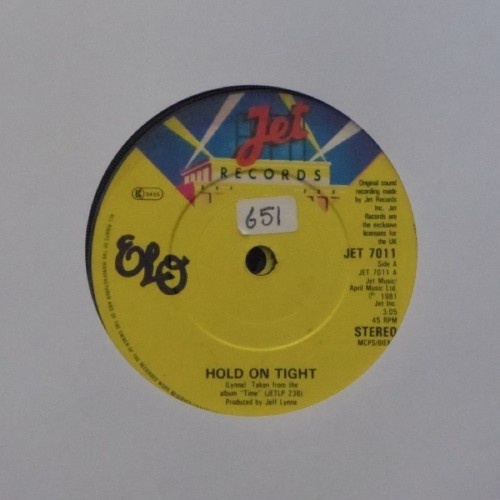 "Electric Light Orchestra<br>Hold On Tight<br>7"" single"