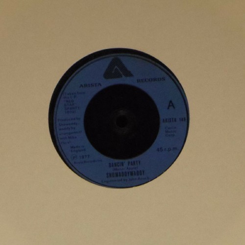 "Showaddywaddy<br>Dancin' Party<br>7"" single"